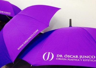 Paraguas serigrafía