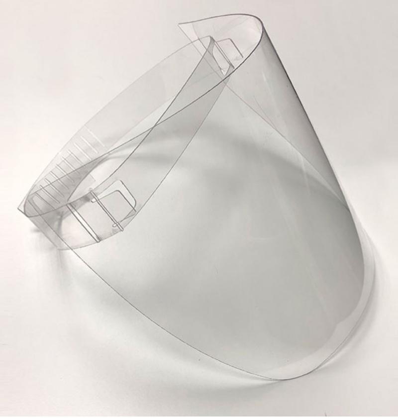 Máscara facial anti-contagio Modelo Seguridad